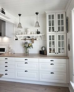 IKEA kitchen ! #behindabluedoor
