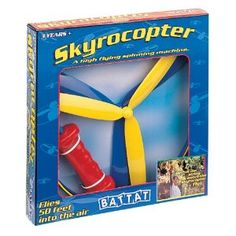 Battat Skyrocopter....the boys LOVE this! fun for hours! a great outdoor toy! and cheap! good to fill an easter basket!!