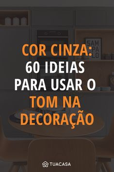 Cor cinza: 60 ideias para usar o tom na decoração com criatividade Diy Furniture Easy, Furniture Design, Decoration, Art Decor, Home Decor, Industrial Chic, Diy Crafts To Sell, My Room, Woodworking Plans