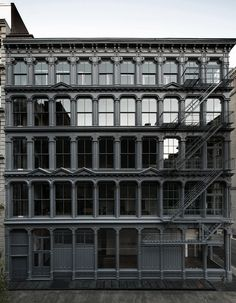 Donald Judd House, 101 Spring Street, SoHo, New York. I did the tour recently and it was superb. Such an amazing building.