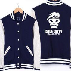Baseball Jacket Call of Duty Black Ops | IdolStore