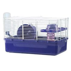 Ware Manufacturing Home Sweet Home 1 Story Hamster Cage by Ware Manufacturing ** Remain to the item at the image link. (This is an affiliate link). 1st Response, Hamster Cages, Small Animal Cage, Rabbit Cages, Animal Habitats, Gerbil, Pet Cage, Popular Colors, Playpen