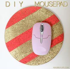 5 Minute Mousepad DIY