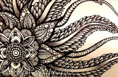 Newfoundland Mandala #2 by White Violet Art, via Flickr