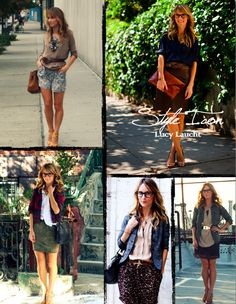 lucy laucht. love her style