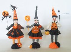 spun cotton for Halloween!  #vintage by crystal