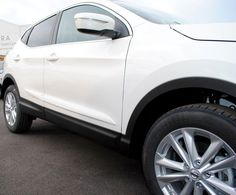 Ref Number These mouldings are colour coded, this set is WHITE, paint code QAB. Just clean the surface, line them up and stick them in place. We are a main dealer for our franchised vehicles. Nissan Qashqai, Accessories, Cars, Ebay, Gallery, Check, Autos, Car, Automobile