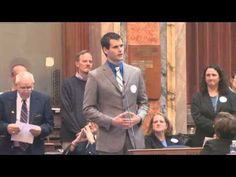 Zach Wahls Defends Gay Marriage To Iowa Legislators (: