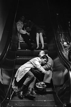 Grand Central Station on New Years Eve 1969  Photo: Leonard Freed