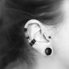 Time Tattoos, Tatoos, Ear Tattoos, Tattoo Character, Abstract Tattoo Designs, Mandala Tattoo, Tragus, Tattoo Inspiration, Delicate Tattoo