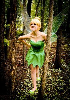 Tinker Bell costume.