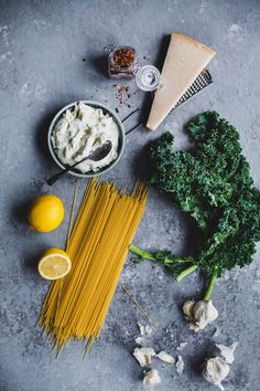 Spaghetti With Kale and Ricotta   Playful Cooking