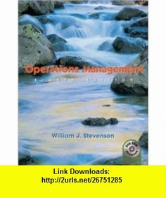 Operations Management -- Eighth 8th Edition -- No CD Included William J. Stevenson ,   ,  , ASIN: B003B7M0TS , tutorials , pdf , ebook , torrent , downloads , rapidshare , filesonic , hotfile , megaupload , fileserve