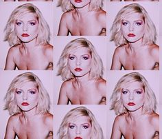 Debbie Harry fabric design by jimmyhedgesprojects on Spoonflower Andy Warhol Photography, Debbie Harry, Aperture, Custom Fabric, Spoonflower, Fabric Design, Craft Projects, Halloween Face Makeup, Costumes