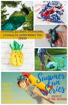 4 tips for teaching kids to crochet Summer Fun #2