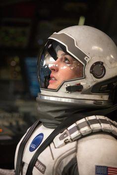 Interstellar - Anne Hathaway  http://cinemuckblog.wordpress.com/2014/11/06/interstellar-2014/