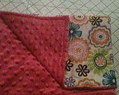 Precious homemade baby blanket
