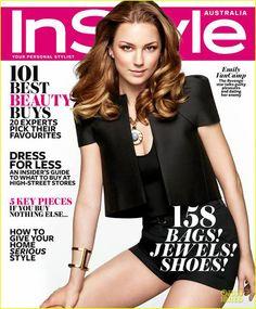 Emily Vancamp Instyle Magazine