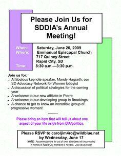 Meeting Invitation Letter | Annual Meeting Invitation
