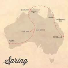 Itinerary for Australia Spring