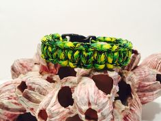 A personal favorite from my Etsy shop https://www.etsy.com/listing/528687573/550-paracord-green-dragonfly-bracelet