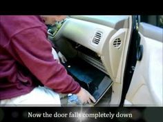 Honda Odyssey Cabin Air Filter Change: How To Video - YouTube