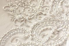 Couture Bridal veil - Art Deco ( 1 qty ready to ship)