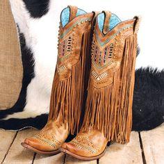 Corral Bling Fringe Boots