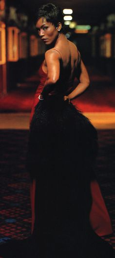 Angela Bassett as Tina Turner   angela bassett s breakout role was as tina turner in what s love got ...