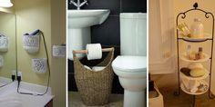 pomysły naprzechowywanie wmałej łazience