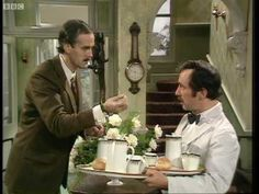 Variety reports that British actor Andrew Sachs—best known to American audiences as the dim-witted waiter Manuel on John Cleese's beloved TV farce Fawlty Towers—has died. Sachs was 86.Sachs' career stretched across 60 years and more than 100 roles in British TV, radio, and film, including appearance