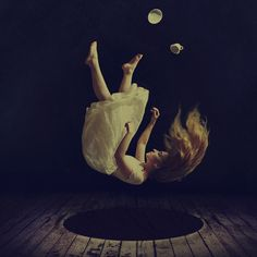 Los Angeles-based photographer Brooke Shaden crafts hauntingly-beautiful works that seem to live in their own world. As we've seen before, she's no stranger to composing dark-yet-hopeful images of women in surreal settings