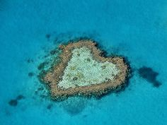 heart shaped island in south pacific