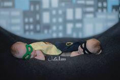 Newborn Superhero Photo Shoot <3 -XOXO