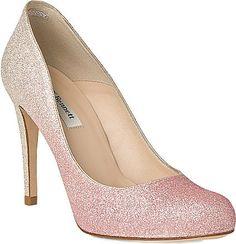 LK BENNETT Dottie glitter heels • LK Bennett • £195.00