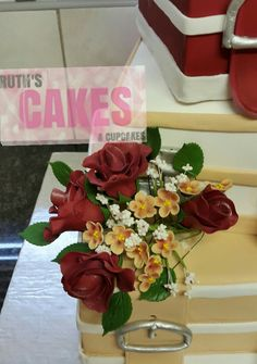 The bride did not want the flowers to be the main focus, so scaled down on the size of the bouquet