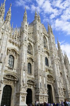 Milan cathedral www.european-backpacking.com #europeanbackpacking