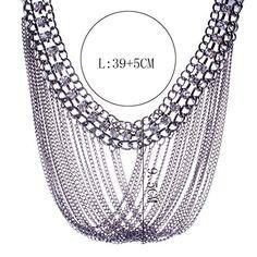 Ginasy Hematite Rhinestone Vintage Alloy Tassels Chokers Necklace Ginasy http://www.amazon.com/dp/B01A6NMONQ/ref=cm_sw_r_pi_dp_pkF0wb09B9AHE