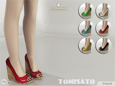 My Sims 4 Blog: MJ95's Madlen Tomisato Shoes