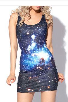 Stellar dress. love love blackmilk.