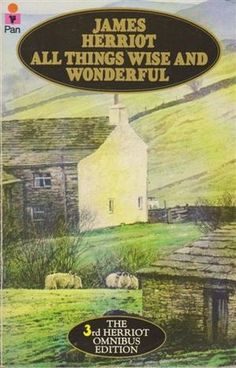 All Things Wise and Wonderful - James Herriot. Just devoured this one in a day... takes me back to reading his books at the lake!