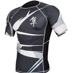 Les nouveaux rashguard Metaru de la marque Hayabusa sont à la pointe des dernières technologies en matière de fabrication de vêtements de compression.
