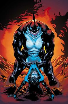 Nightwing vs Orca by Marcus To
