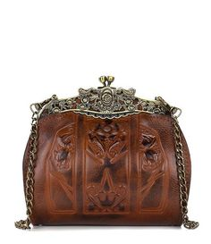 c8512dd1f3f8 Patricia Nash Burnished Tooled Collection Carmonita Frame Bag Vintage Bags