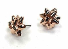 Shop the latest collection of Kate Spade Bourgeois Bow Stud Earrings, Rose Golden from the most popular stores - all in one place. Similar products are available. Diy Jewelry Rings, Diy Jewelry Unique, Diy Jewelry To Sell, Jewelry Art, Fashion Jewelry, Pink Jewelry, Jewlery, Kate Spade Earrings, Bow Earrings