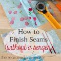 sew edges without a serger