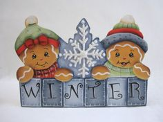 HP Gingerbread Fridge Magnet - Winter