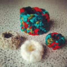Crochet works handmade with love armlet and rings #lailanahandmade Lailana