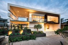 Stunning Modern Rectangular House With A Splendid Architecture And Interior DesignSituated in Perth, Australia, this stunning modern rectangular house was recently designed by D4 Designs. The house has two stories and one of the b... Architecture Check more at http://rusticnordic.com/stunning-modern-rectangular-house-with-a-splendid-architecture-and-interior-design/