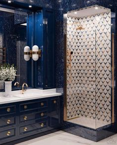 Would you be this daring By Balcon du Cie Bad Inspiration, Bathroom Inspiration, Home Decor Inspiration, Bathroom Design Luxury, Bath Design, Home Interior Design, Key Design, Bathroom Designs, Bathroom Ideas